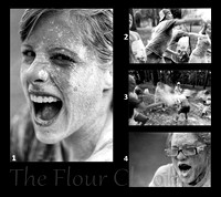 The Flour Chronicle by Kit Mohr a black and white fine art film series.